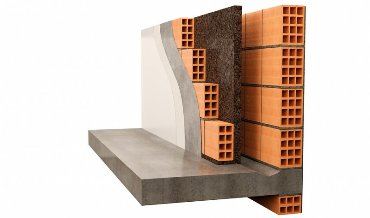 Двойные стены с изоляцией в воздушной коробке