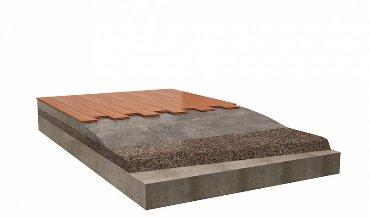 Компонент легкого бетона для заполнения стяжки
