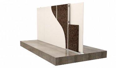 Изоляция стены из металлической стойки