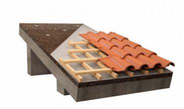 Скатная крыша с мембраной
